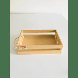 Caja de Madera Para Desayunos Sorpresa-mínimo 50 Unidades 40x30, x8 alto