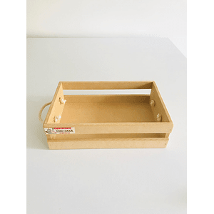 Caja de Madera Para Desayunos Sorpresa-Se venden mínimo 100 Unidades
