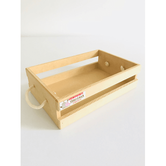 Caja de Madera huacal Para Desayunos Sorpresa-Se venden mínimo 6 Unidades - Image 2