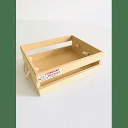 Caja de Madera MDF -Se venden mínimo 100 Unidades 25x20, x8 alto