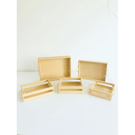 Caja de Madera MDF -Se venden mínimo 6 Unidades - Image 3