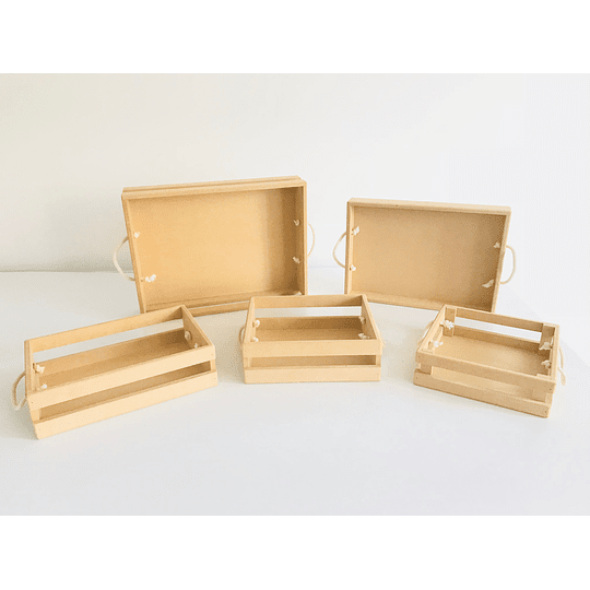 Caja de Madera MDF -Se venden mínimo 50 Unidades 25x20, x8 alto - Image 4