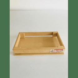 Cajas Para Fresas con Chocolate-Se venden mínimo 50 Unidades 25x15, x4 alto
