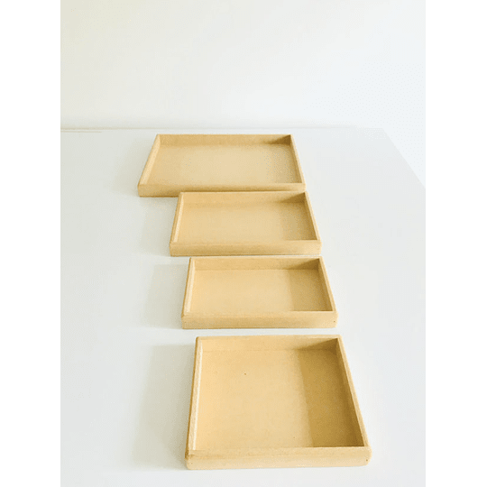 Bandeja Para Desayunos Sorpresa Mediana-mínimo 50 Unidades 30x20, x3 alto - Image 3