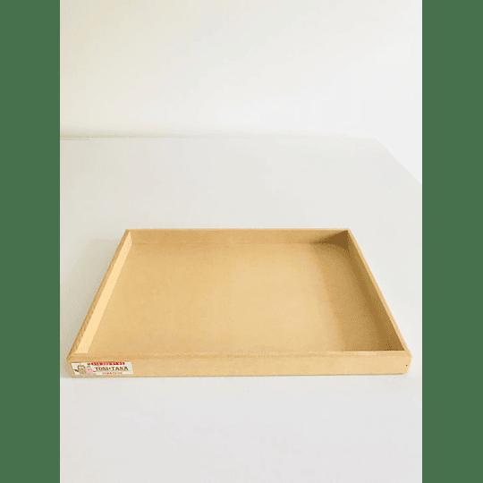 Bandeja Para Desayunos Sorpresa Grande-Se venden mínimo 100 unidades 40x30, x3 alto - Image 1