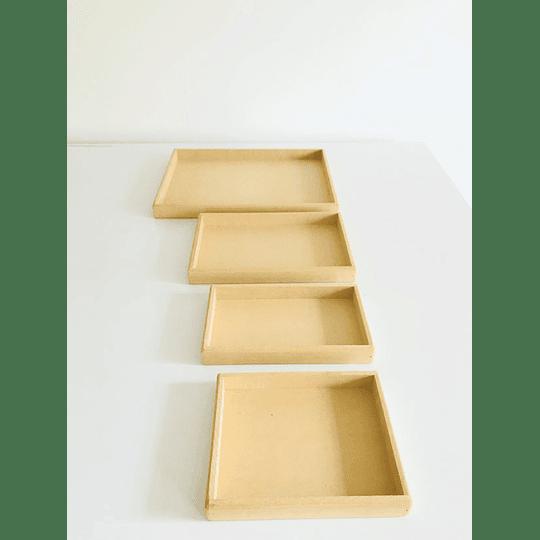 Bandeja Para Desayunos Sorpresa Grande-mínimo 50 unidades 40x30, x3 alto - Image 3
