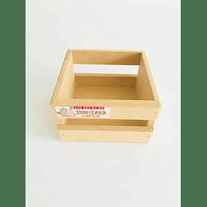 Caja en Madera Para Mug Y Vasos-Se venden mínimo 6 Unidades
