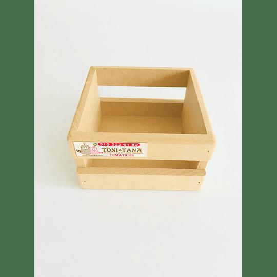 Caja en Madera Para Mug Y Vasos-mínimo 50 Unidades 14x14, x8 alto - Image 1