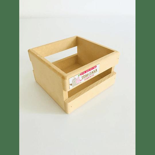 Caja en Madera Para Mug Y Vasos-mínimo 50 Unidades 14x14, x8 alto - Image 2