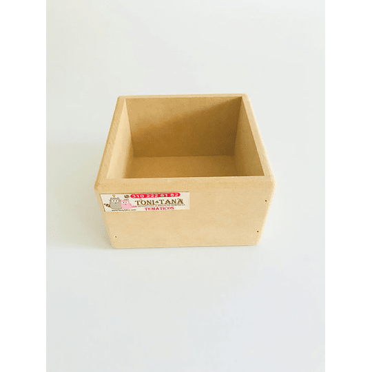 Caja en Madera Para Mug Y Vasos-mínimo 50 Unidades 14x14, x8 alto - Image 3