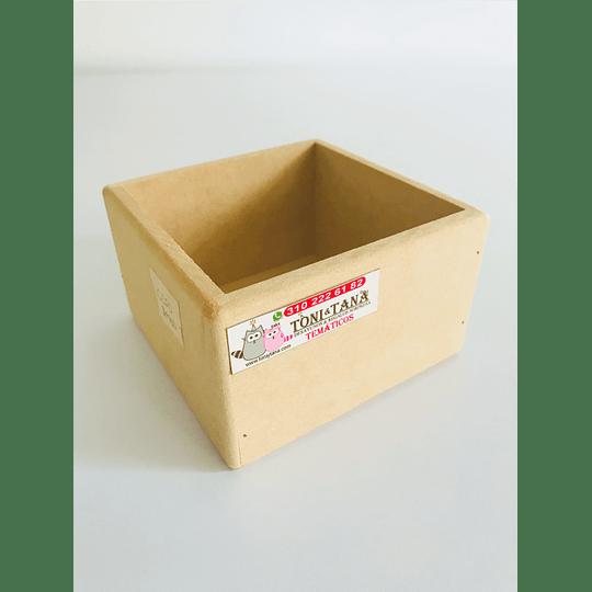 Caja en Madera Para Mug Y Vasos-mínimo 50 Unidades 14x14, x8 alto - Image 4