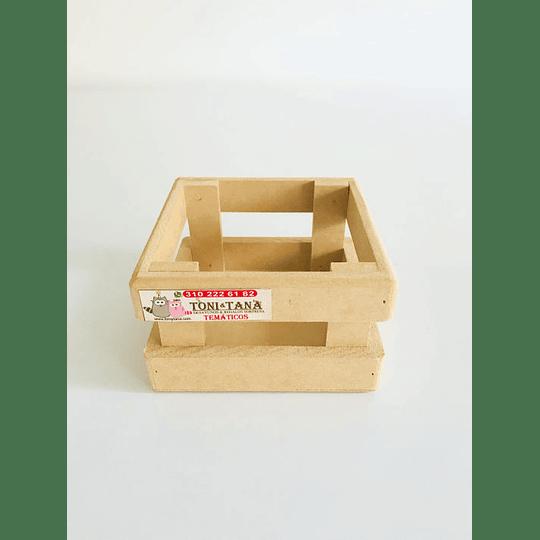 Caja en Madera Para Mug Y Vasos-mínimo 50 Unidades 14x14, x8 alto - Image 5