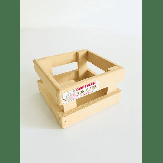 Caja en Madera Para Mug Y Vasos-mínimo 50 Unidades 14x14, x8 alto - Image 6