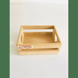 Caja de Madera Regalo Sorpresa Corazón Pequeña-mínimo 50 Unidades 20x16, x8 alto