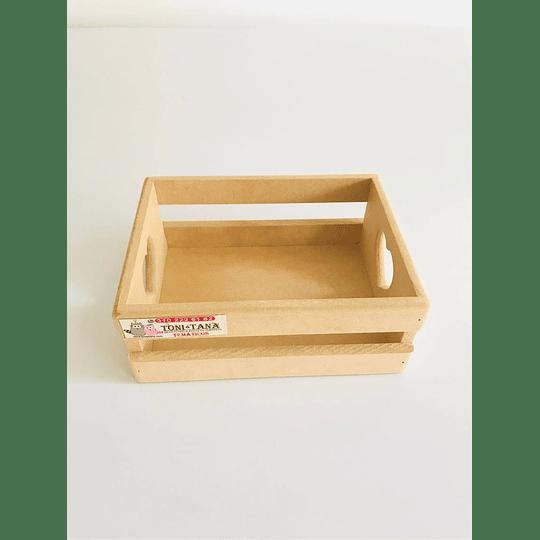Caja de Madera Regalo Sorpresa Corazón Pequeña-mínimo 50 Unidades 20x16, x8 alto - Image 1