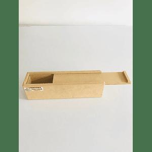 Caja de Madera para Flores o Fresas con Chocolate Pequeña-Se venden mínimo 50 Unidades