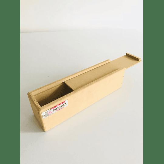 Caja de Madera para Flores o Fresas con Chocolate Pequeña-Se venden mínimo 100 Unidades - Image 2