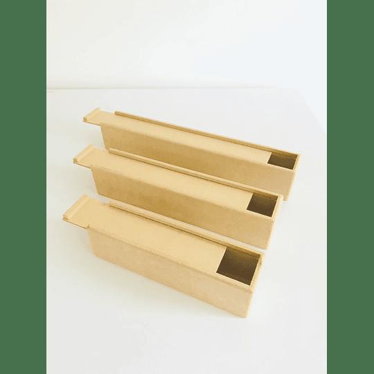 Caja de Madera para Flores o Fresas con Chocolate Pequeña-Se venden mínimo 100 Unidades 30x8, x8 alto - Image 4