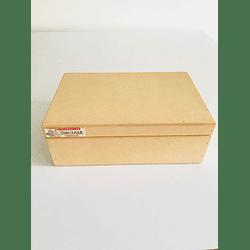 Caja de Madera Con Tapa-mínimo 50 Unidades 25x20, x9 alto