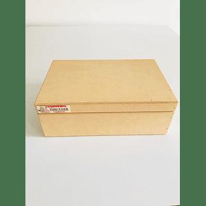 Caja de Madera Con Tapa-mínimo 100 Unidades 25x20, x9 alto