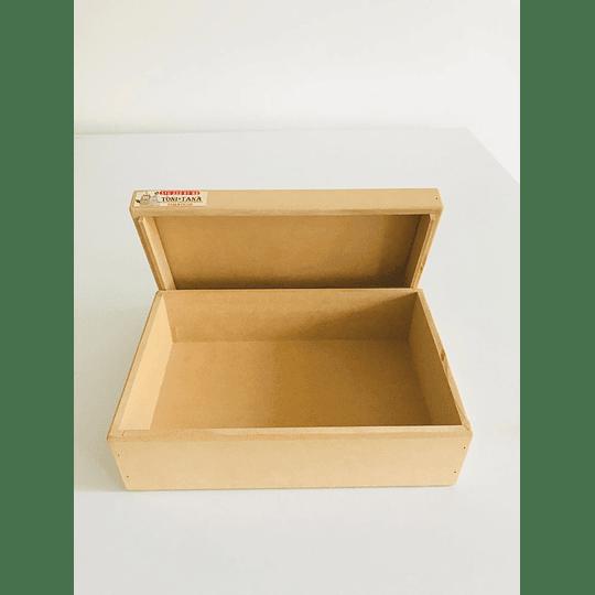 Caja de Madera Con Tapa-Se venden mínimo 6 Unidades - Image 2