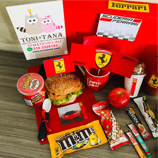 Desayuno Regalo Sorpresa Ferrari - Image 3