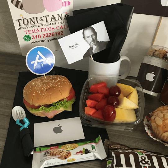 Desayuno Regalo Sorpresa Mac Apple - Image 4
