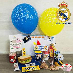 Desayuno Regalo Sorpresa Real Madrid
