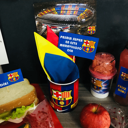 Desayuno Regalo Sorpresa Barcelona Futbol Club - Image 5