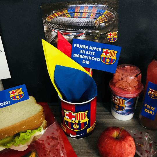Desayuno Regalo Sorpresa Messi Barcelona Futbol Club - Image 7