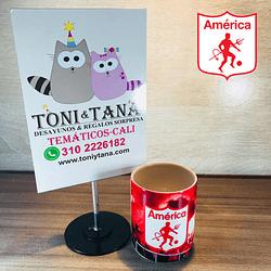 Mugs y Vasos Temáticos y Personalizados América De Cali