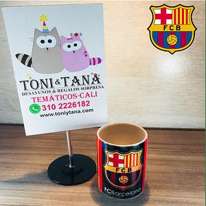 Mugs y Vasos Temáticos y Personalizados Barcelona FCB