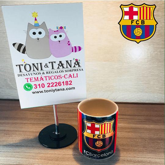Mugs y Vasos Temáticos y Personalizados Barcelona FCB - Image 1