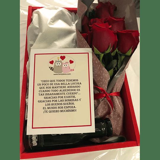 Regalos Sorpresa Rosas Feliz día- Pedido 2 días antes - Image 4