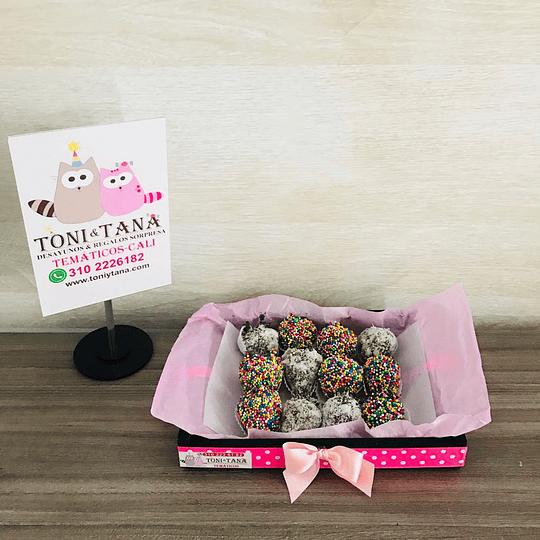 Fresas con Chocolate Te Amo San Valentin- Pedido 2 días antes  - Image 2