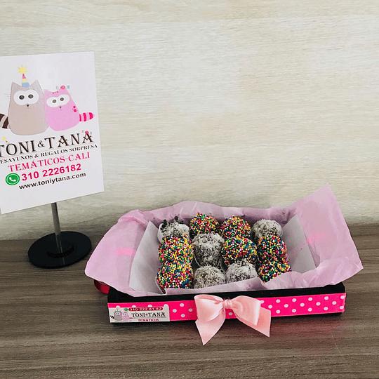 Fresas con Chocolate Te Amo San Valentin - Image 3