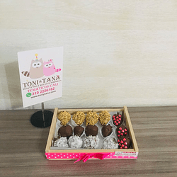 Fresas con Chocolate Caja Mixta