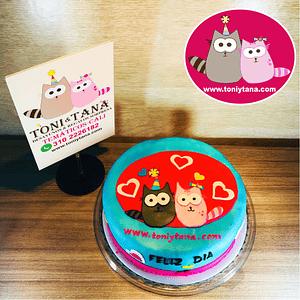 Tortas Temáticas con Logo Corporativo TONI Y TANA-DISPONIBLE  SOLO EN CALI