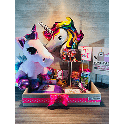 Desayuno Regalo Sorpresa Unicornio con Peluche