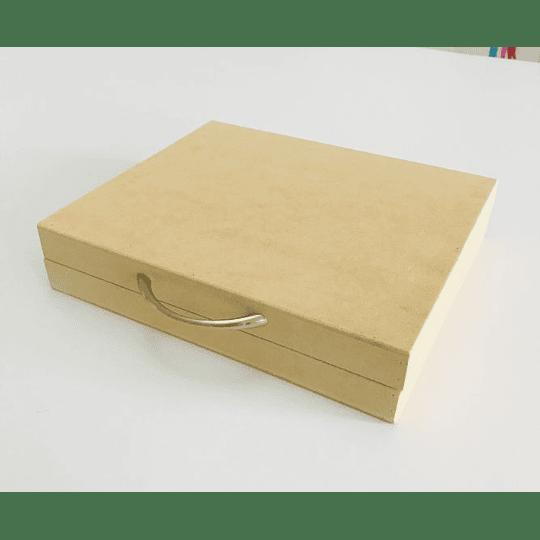 Portafolios en Madera con divisiones-mínimo 50 Unidades 35x25, x 8 alto - Image 3