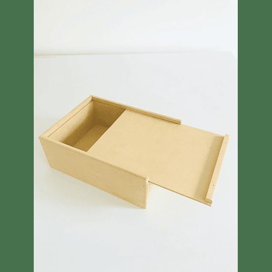 Caja de Madera Para Regalo Sorpresa con divisiones-mínimo 50 Unidades 35x25, x 8 alto - Image 3