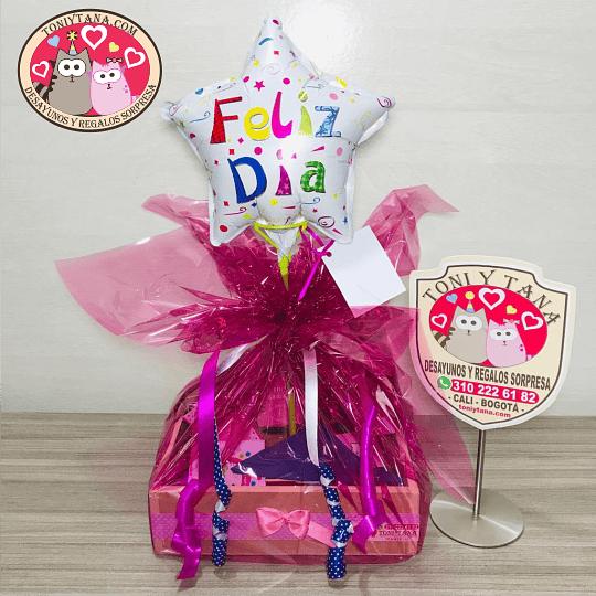 Desayuno Regalo Sorpresa Mini Feliz cumpleaños - Image 3