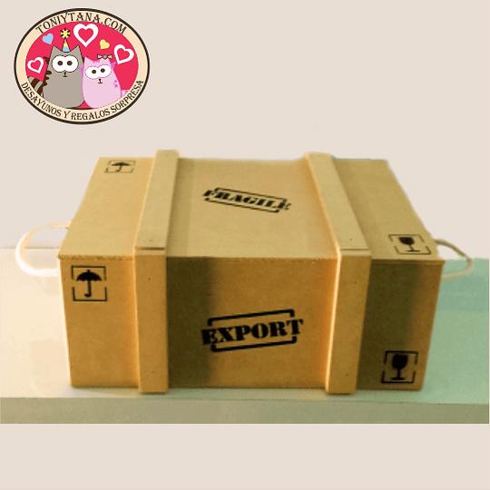 Cajas y bandejas en madera Pino Mdf y Natural Export