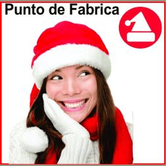 Gorros de Navidad con Bufanda Peluche Corto $ 11.000 - Image 1