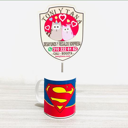 Desayuno Sorpresa Regalo Eres mi Superman - Image 5