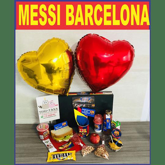 Desayuno Regalo Sorpresa Messi Barcelona Futbol Club - Image 1