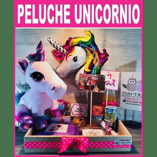Desayuno Regalo Sorpresa Unicornio Con Peluche - Image 1