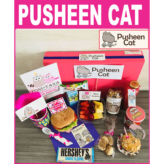 Desayuno Sorpresa Pusheen Cat - Image 1