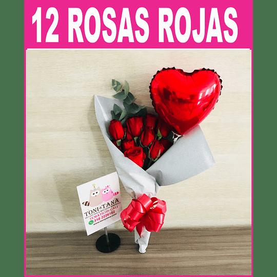 Ramo de 12 Rosas  - Image 1