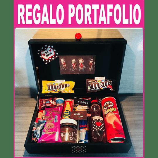 Regalo sorpresa Portafolio Personalizado y Tematico - Image 1